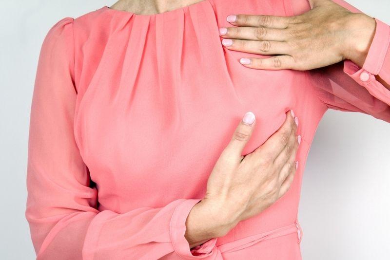 schmerzhafte Brust