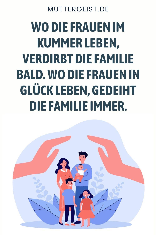 Familie-Sprüche- Sprichwörter mit dem Thema Familie
