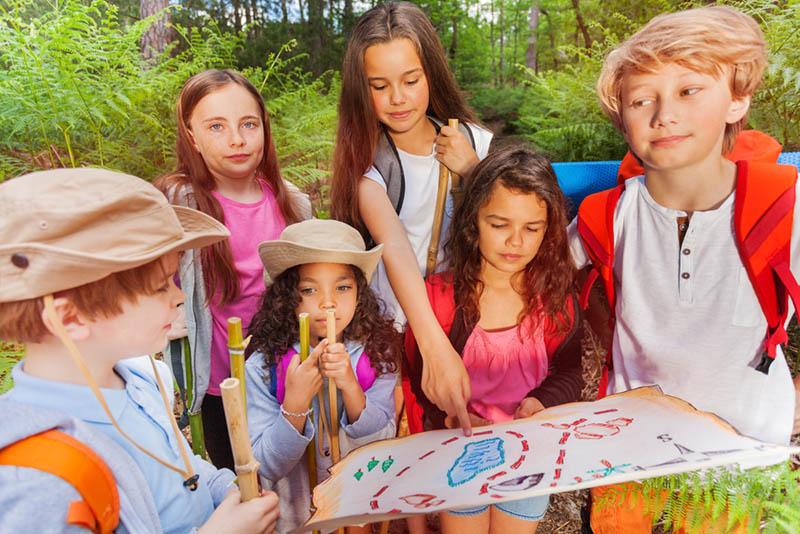 Schatzsuche Kindergeburtstag – Die Schnitzeljagd Kann Losgehen!