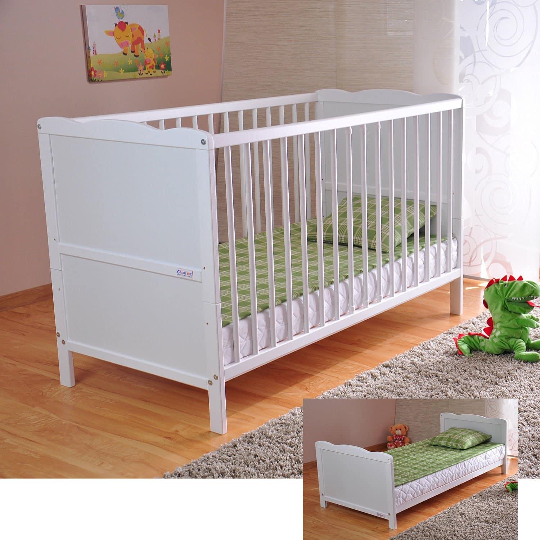 Babybett/Kinderbett mit Aloe Vera Schaumstoffmat