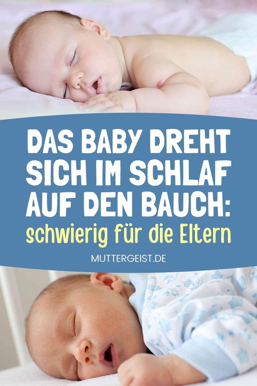 Das Baby Dreht Sich Im Schlaf Auf Den Bauch – Schwierig Für Die Eltern (1)