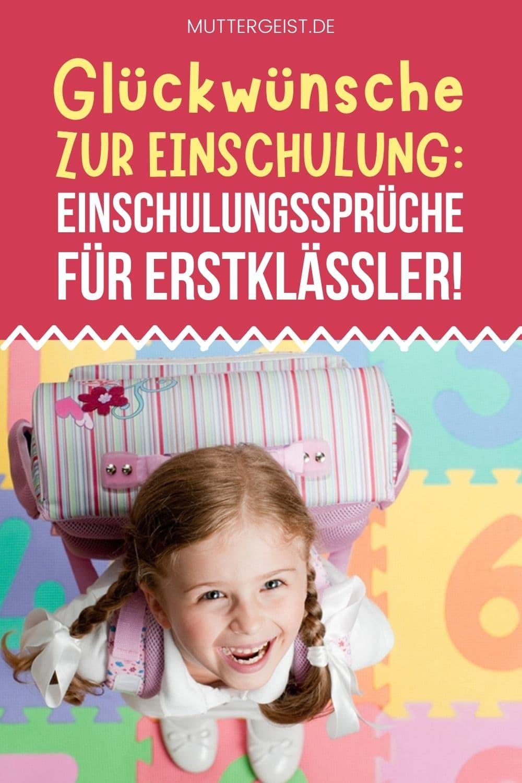 Glückwünsche Zur Einschulung – Einschulungssprüche Für Erstklässler! Pinterest