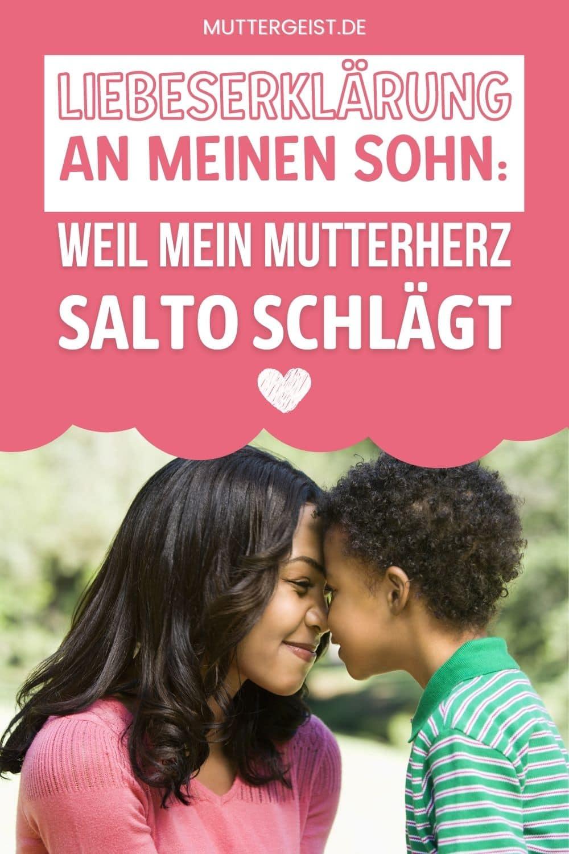 Liebeserklärung An Meinen Sohn – Weil Mein Mutterherz Salto Schlägt Pinterest