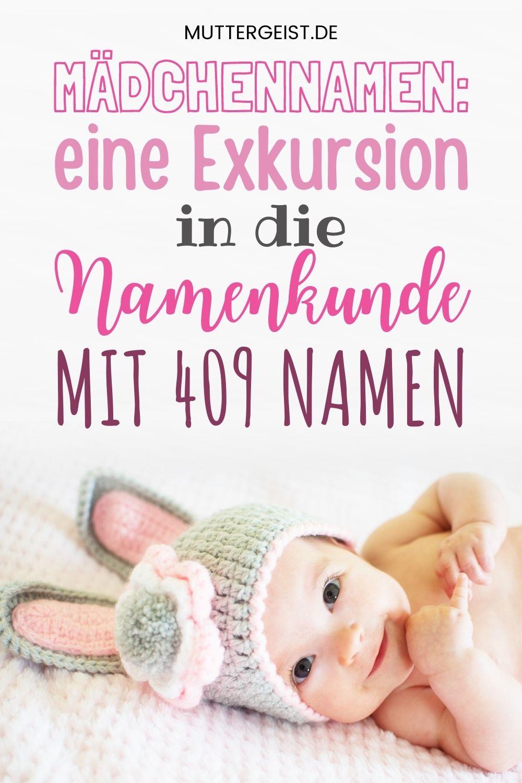 Mädchennamen – Eine Exkursion In Die Namenkunde Mit 409 Namen Pinterest