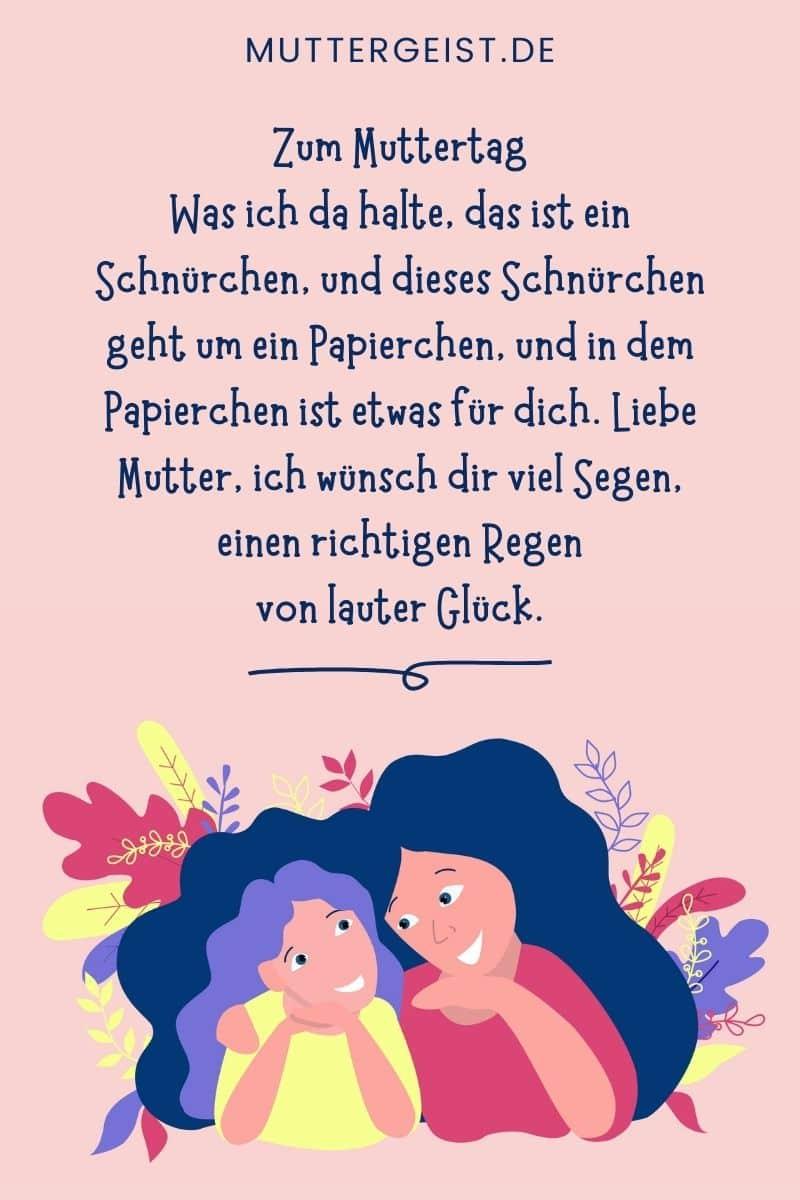 Muttertagsgedichte und Geburtstagswünsche für die liebe Mama (1)