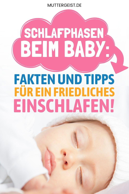 Schlafphasen Beim Baby – Fakten Und Tipps Für Ein Friedliches Einschlafen! Pinterest