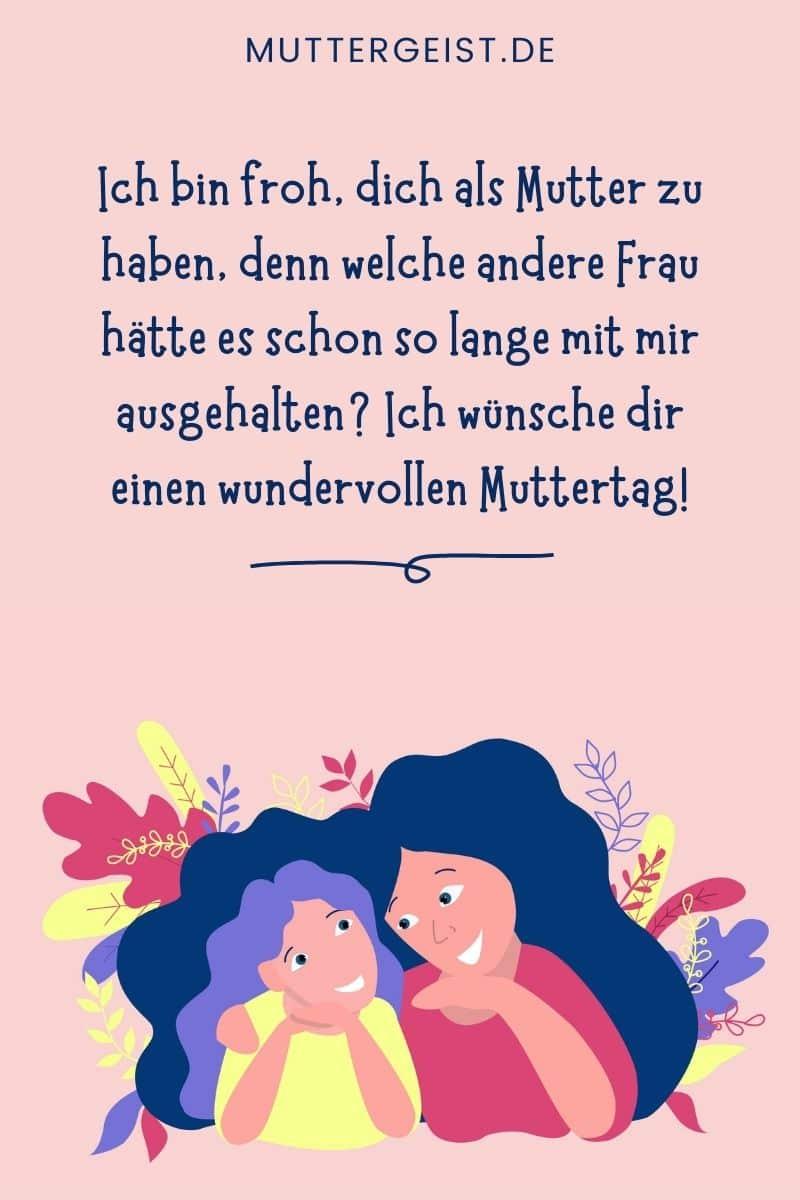 Sprüche und Glückwünsche zum Muttertag