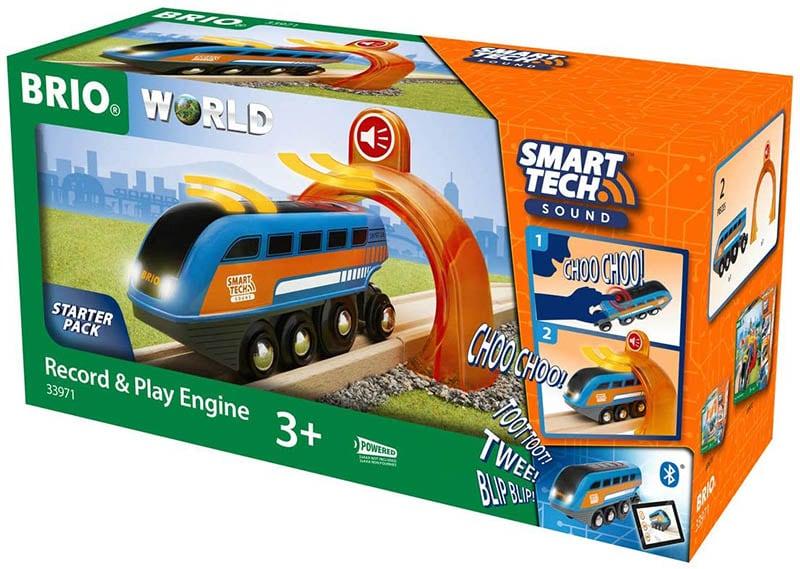 BRIO World Smart Tech Sound Lok mit Aufnahmefunktion