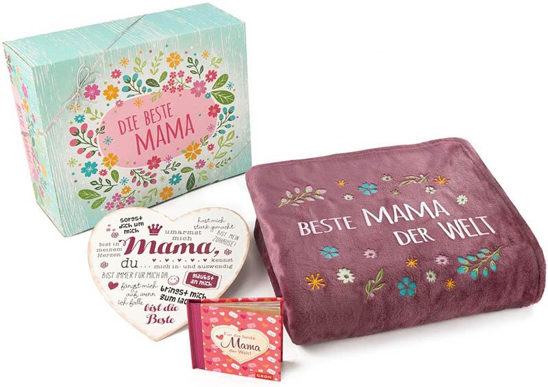 Direkt-Stick.de Beste Mama der Welt Geschenke Set