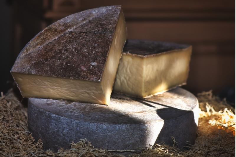 Echter Käse aus den italienischen Bergen