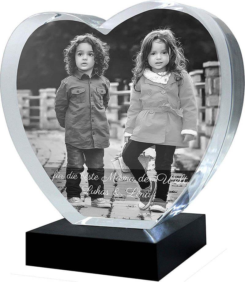 Galerie Kristall Kristall-Glas Herz