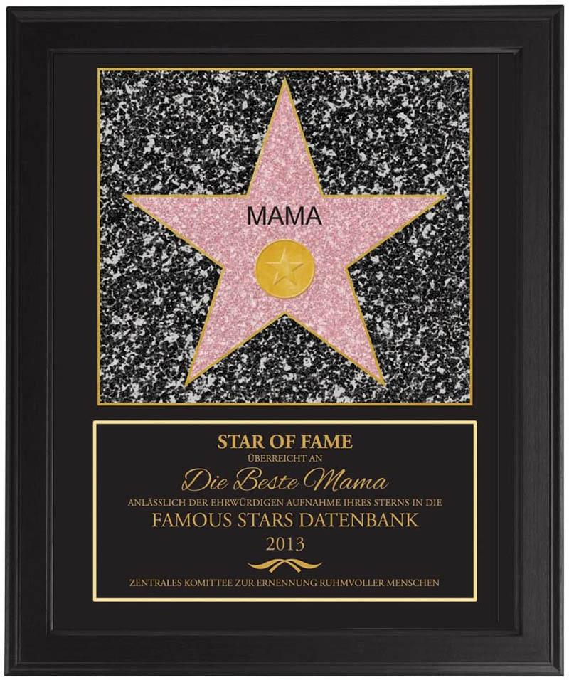 Hollywood-Stern für die beste Mama