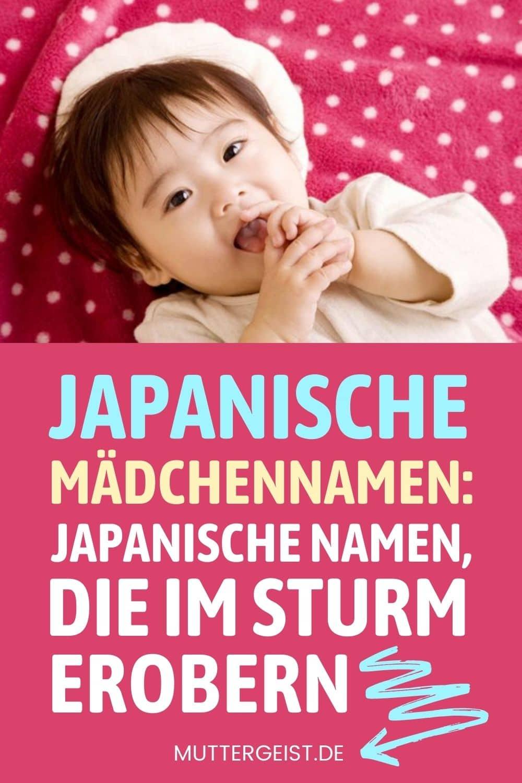 Japanische Mädchennamen – Japanische Namen, Die Im Sturm Erobern Pinterest