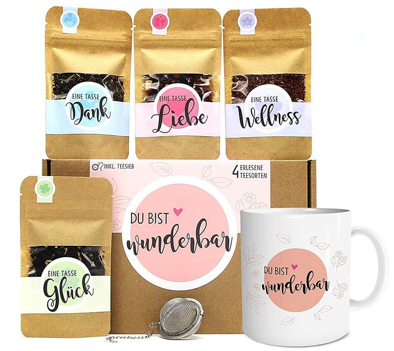 OWLBOOK Tee Geschenk-Set