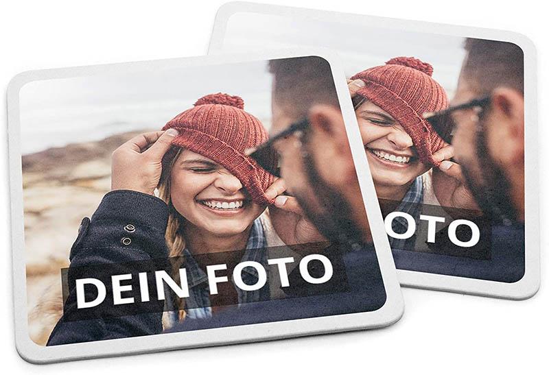 PhotoFancy Bierdeckel mit Foto