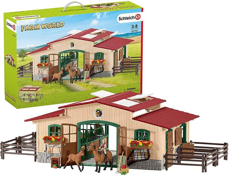 Schleich Farm World Pferdestall