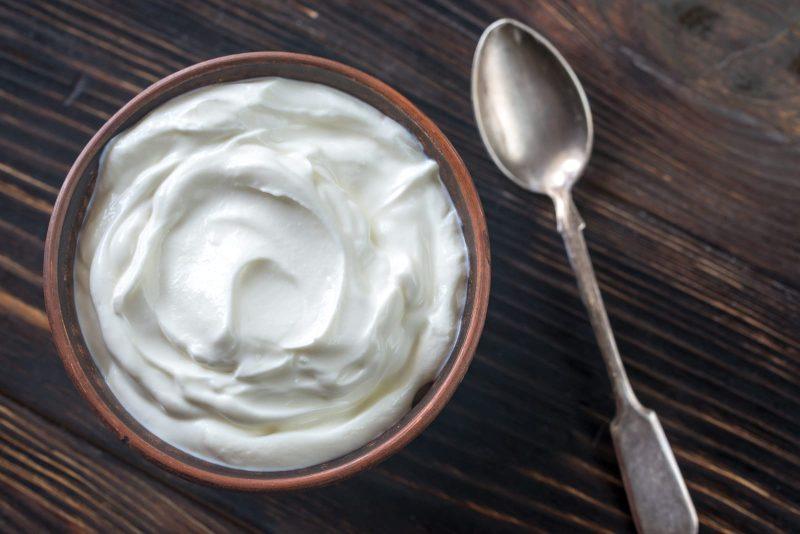 Schüssel Crème Fraiche