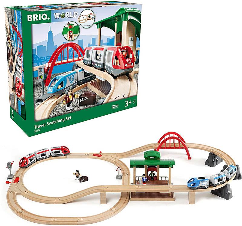BRIO World Bahn Reisezug Set