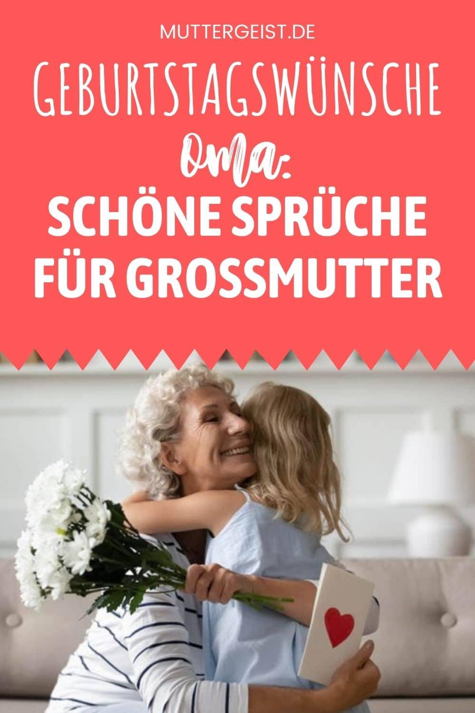 Geburtstagswünsche Oma – Schöne Sprüche Für Großmutter Pinterest