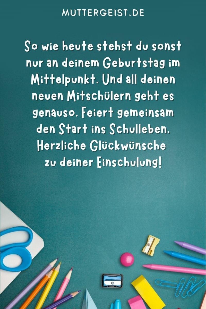 Glückwünsche zur Einschulung - Wünsche zum Schulanfang von den Eltern und von der Familie