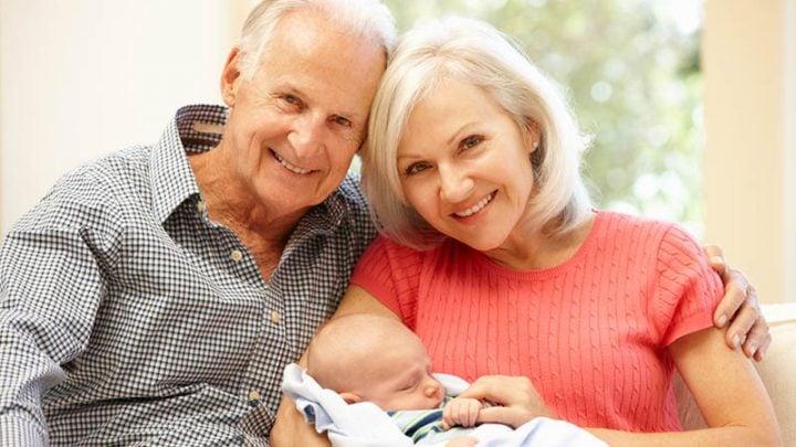 Enkelkindes glückwünsche großeltern geburt Die 50