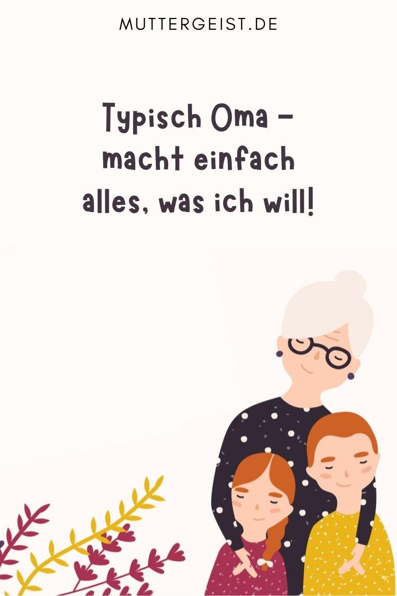 Coole Oma Sprüche - lustige Sprüche