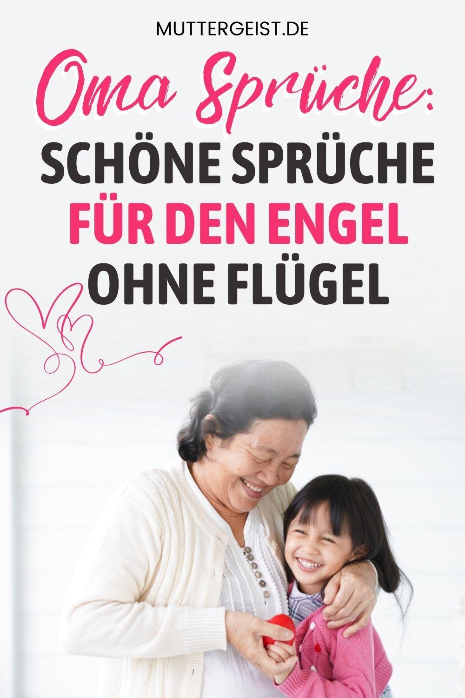 Oma Sprüche – Schöne Sprüche Für Den Engel Ohne Flügel Pinterest