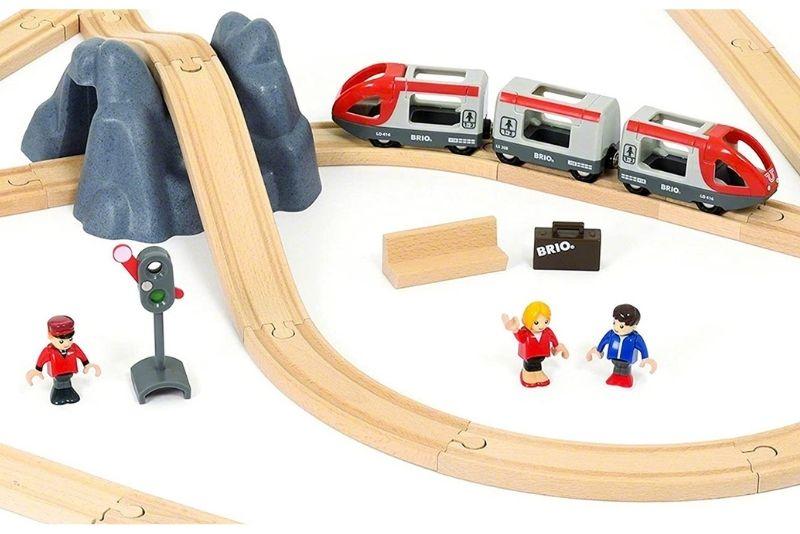 BRIO World 33773 Eisenbahn Starter Set A
