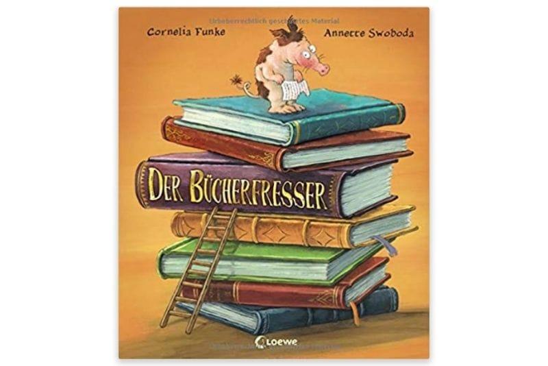 Der Bücherfresser von Cornelia Funke