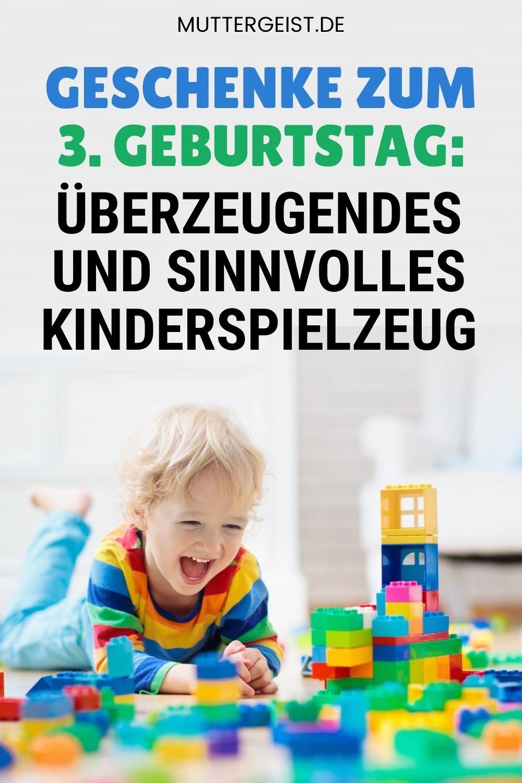Geschenke Zum 3. Geburtstag – Überzeugendes Und Sinnvolles Kinderspielzeug Pinterest
