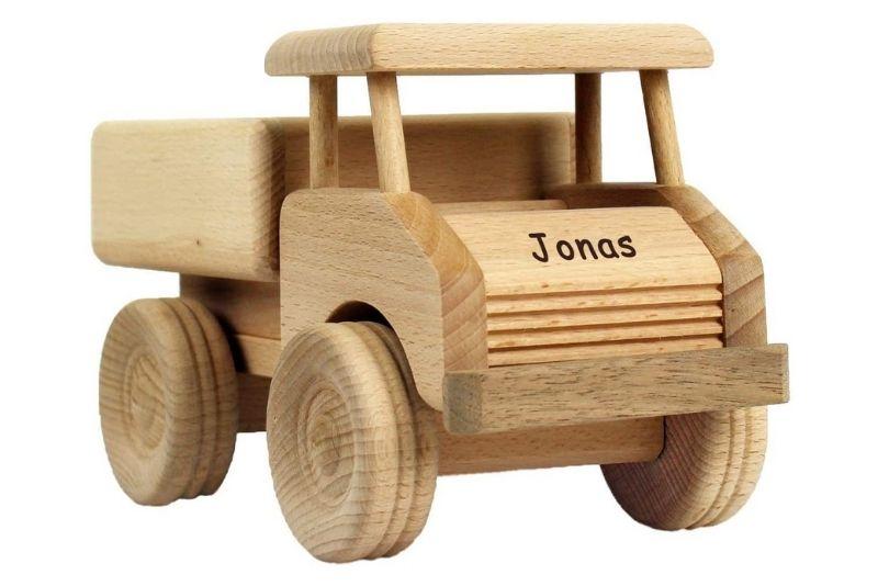 Geschenkissimo Holz-LKW für Kinder