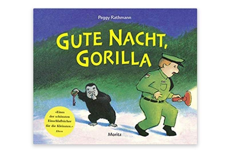Gute Nacht, Gorilla! Von Peggy Rathmann (Autorin, Illustratorin)