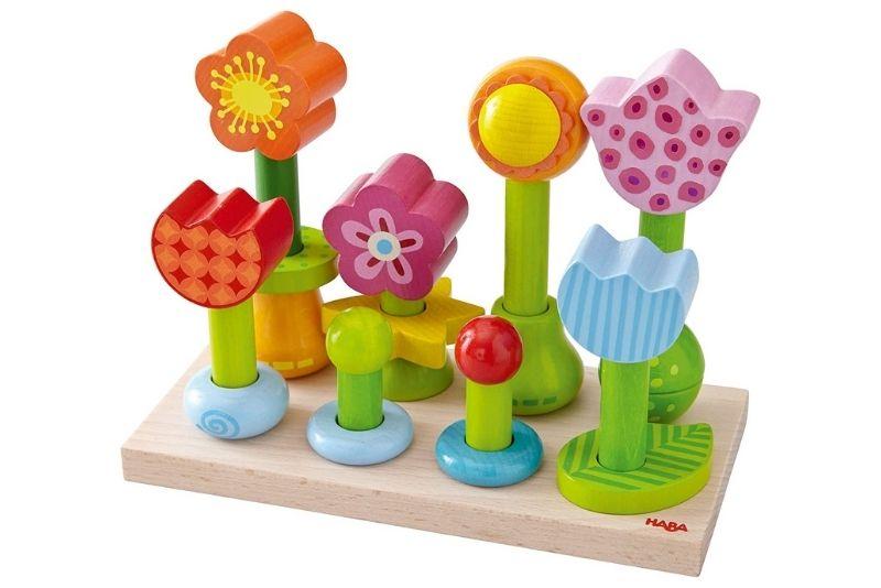 Haba - Blumengarten Steckspiel