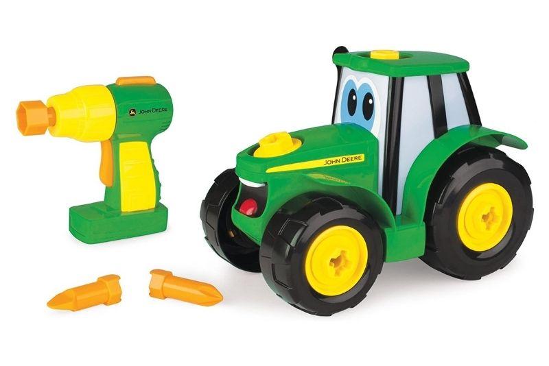 John Deere Kinder Traktor zum Selbstbauen
