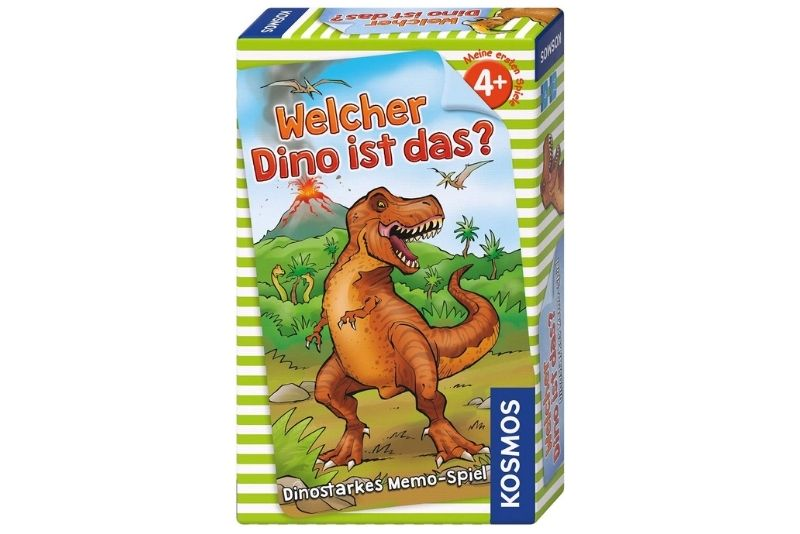 KOSMOS Spiele 711313 Welcher Dino ist das