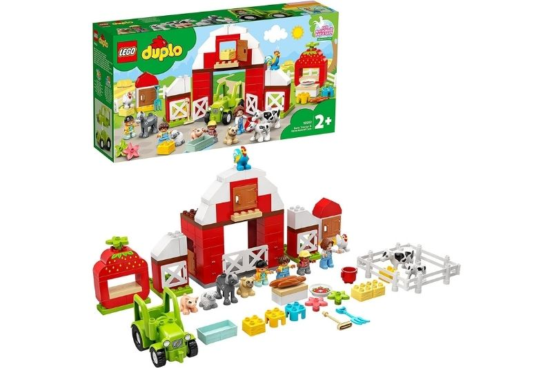 LEGO 10952 DUPLO Scheune, Traktor und Tierpflege