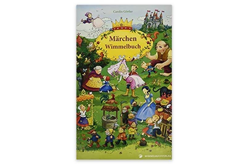 Mein Gebrüder Grimm Märchen Wimmelbuch