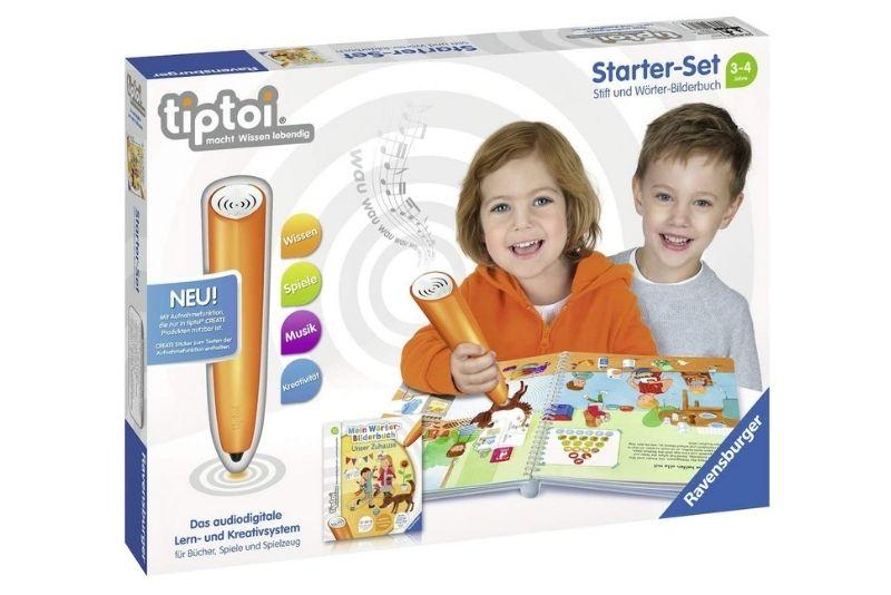 Tiptoi Starter-Set 00806 Stift und Wörter-Bilderbuch Zuhause