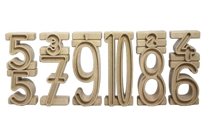 Wissner Stapelzahlen - Montessori Lernspielzeug