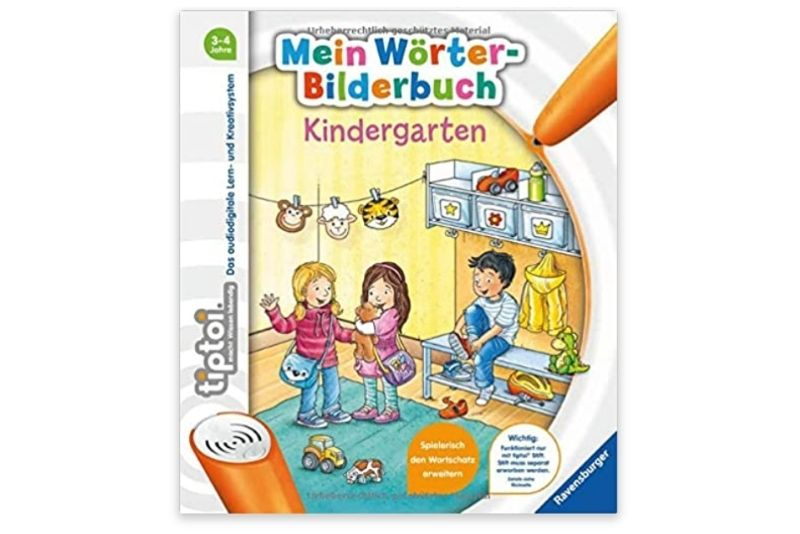 tiptoi - Mein Wörter-Bilderbuch Kindergarten