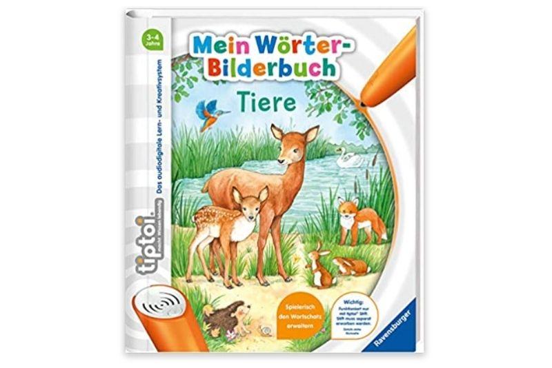 tiptoi - Mein Wörter-Bilderbuch Tiere