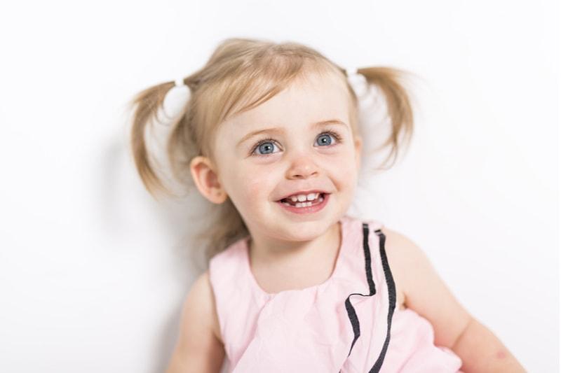 zweijähriges Mädchen