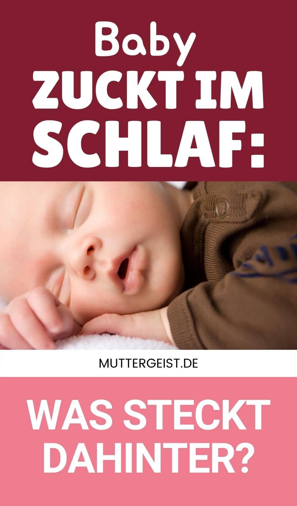 Baby Zuckt Im Schlaf – Was Steckt Dahinter Pinterest