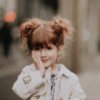 süßes kleines Mädchen